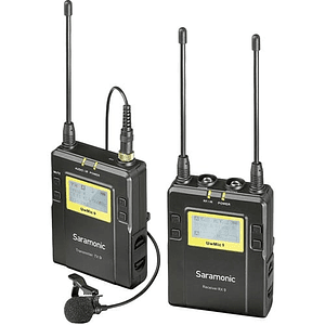 Saramonic UWMIC9 RX9 & TX9 Sistema Micrófono Inalámbrico