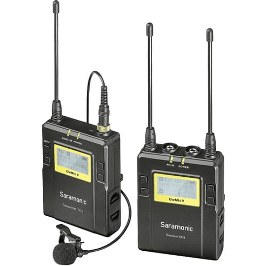 Saramonic UWMIC9 RX9 & TX9 Sistema Micrófono Inalámbrico - Image 1
