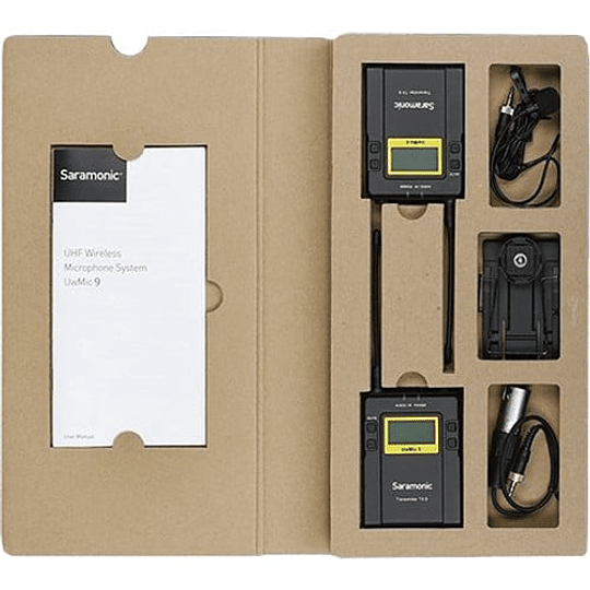 Saramonic UWMIC9 RX9 & TX9 Sistema Micrófono Inalámbrico - Image 3