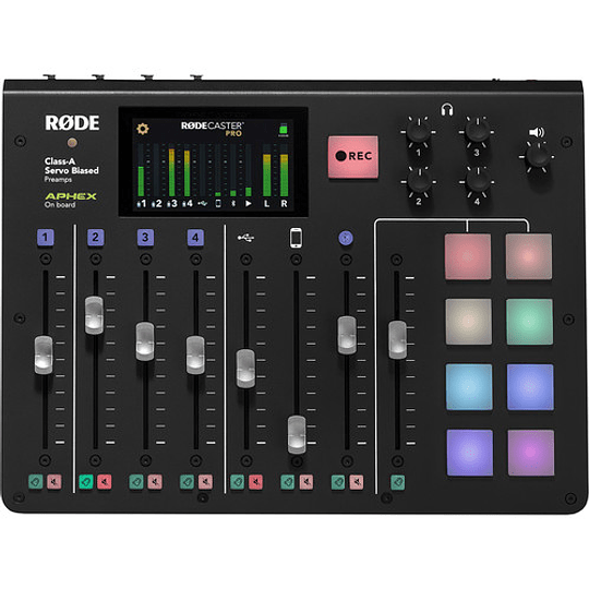 Rode RODECaster Pro Integrated Podcast Production Studio - Image 2