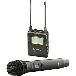 Saramonic UwMic9 Kit 4 Sistema de Micrófono Inalámbrico de Montaje en Cámara (514 a 596 MHz)