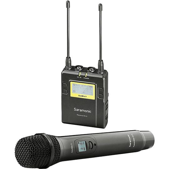 Saramonic UwMic9 Kit 4 Sistema de Micrófono Inalámbrico de Montaje en Cámara (514 a 596 MHz) - Image 1