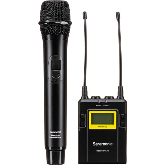 Saramonic UwMic9 Kit 4 Sistema de Micrófono Inalámbrico de Montaje en Cámara (514 a 596 MHz) - Image 3