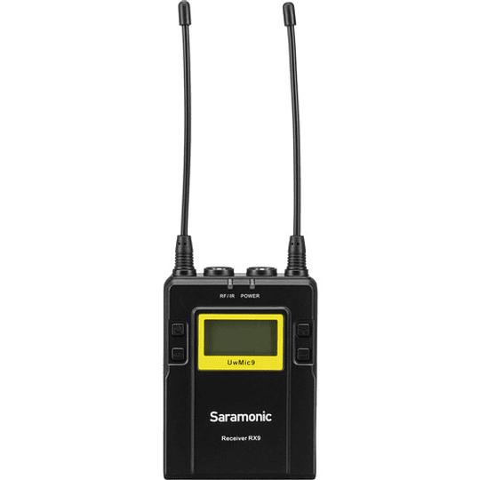 Saramonic UwMic9 Kit 4 Sistema de Micrófono Inalámbrico de Montaje en Cámara (514 a 596 MHz) - Image 4