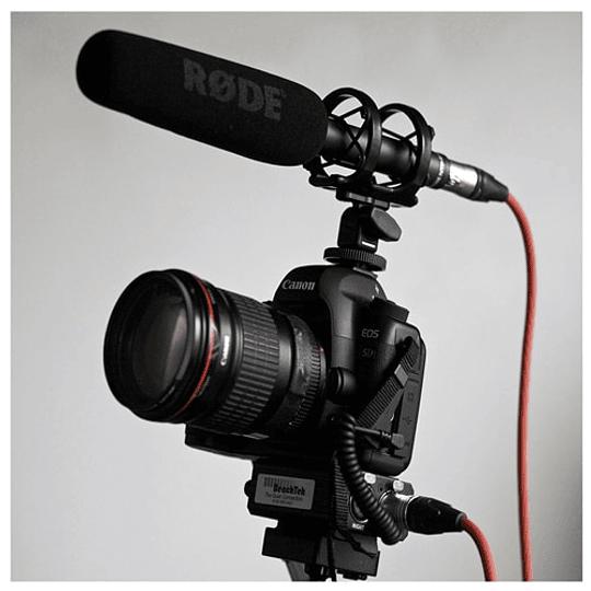 Rode NTG-2 Shotgun Micrófono Direccional Boom - Image 5