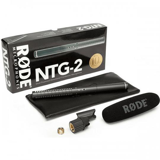 Rode NTG-2 Shotgun Micrófono Direccional Boom - Image 6