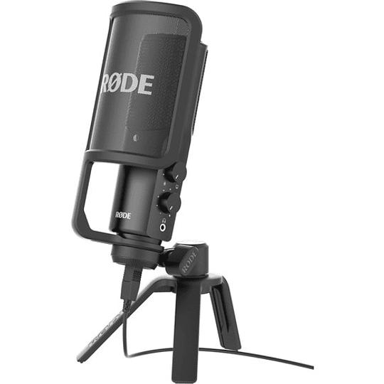 Rode NT-USB Micrófono de Sobremesa con Calidad de Estudio - Image 1