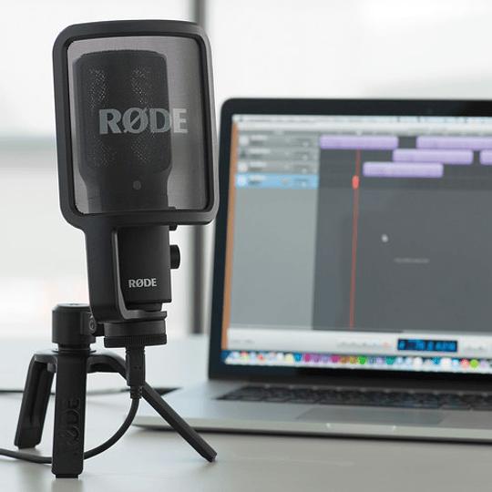 Rode NT-USB Micrófono de Sobremesa con Calidad de Estudio - Image 4
