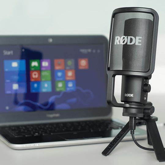 Rode NT-USB Micrófono de Sobremesa con Calidad de Estudio - Image 5