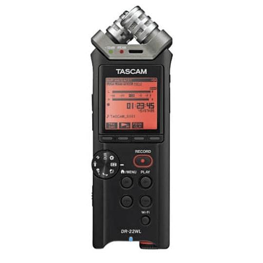 Tascam DR-22WL Grabador de Audio Portátil con Wi-Fi - Image 1