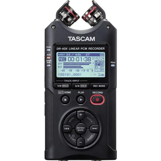 Tascam DR-40X Grabador de Audio Portátil de 4 canales - Image 1