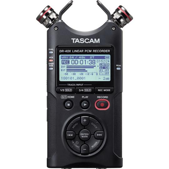 Tascam DR-40X Grabador de Audio Portátil de 4 canales - Image 2