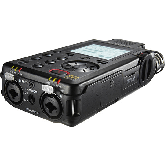 Tascam DR-100MKIII PCM Grabador de Audio Portátil de 4 Canales y 2 XLR - Image 3