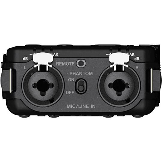 Tascam DR-100MKIII PCM Grabador de Audio Portátil de 4 Canales y 2 XLR - Image 7