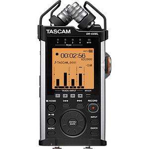 Tascam DR-44WL Grabador de Audio Portátil 4 Canales 2 XLR + 2 Mic con WIFI