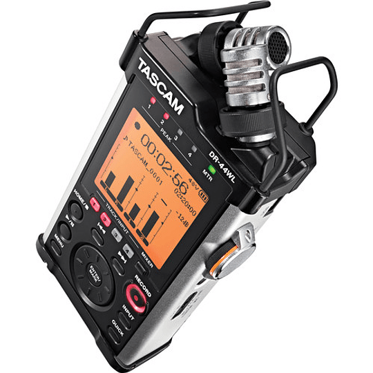 Tascam DR-44WL Grabador de Audio Portátil 4 Canales 2 XLR + 2 Mic con WIFI - Image 2