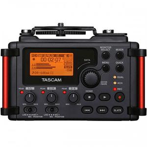 Tascam DR-60D MKII Grabador de Audio Portátil de 4 Canales para Cámaras