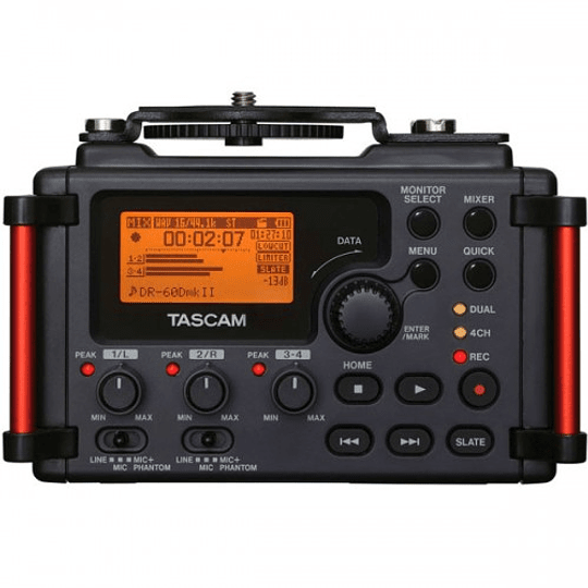 Tascam DR-60D MKII Grabador de Audio Portátil de 4 Canales para Cámaras - Image 1