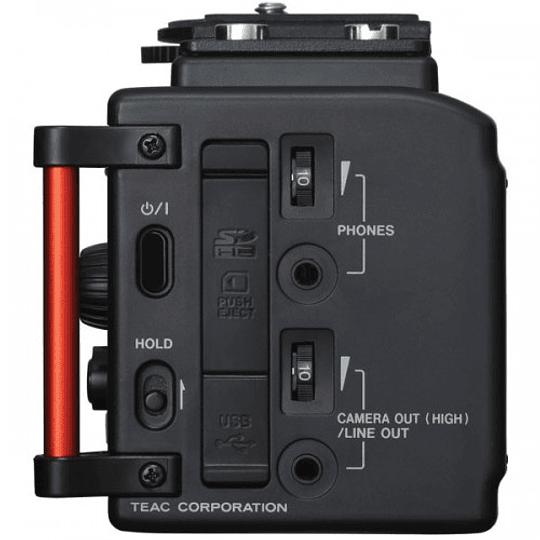Tascam DR-60D MKII Grabador de Audio Portátil de 4 Canales para Cámaras - Image 3