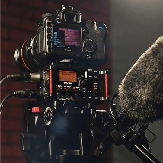 Tascam DR-60D MKII Grabador de Audio Portátil de 4 Canales para Cámaras - Image 6
