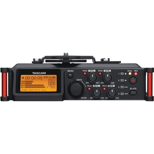 Tascam DR-70D Grabador de Audio Portátil de 4 canales para Cámaras (4 XLR) - Image 2