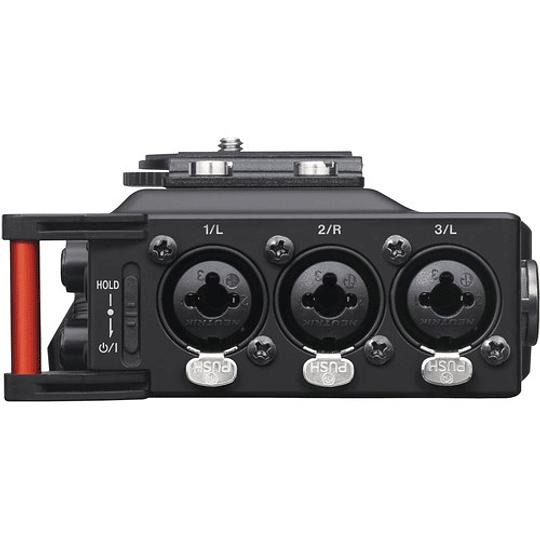 Tascam DR-70D Grabador de Audio Portátil de 4 canales para Cámaras (4 XLR) - Image 3