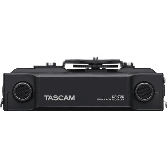 Tascam DR-70D Grabador de Audio Portátil de 4 canales para Cámaras (4 XLR) - Image 5