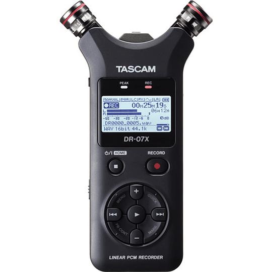 Tascam DR-07X Grabador de Audio Portátil de 2 entradas / 2 Pistas con Micrófono Estéreo Ajustable Integrado - Image 2