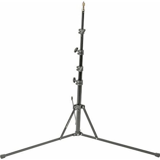 Manfrotto 5001B Nano Black Light Stand – 6.2′ (1.9m) - Image 1