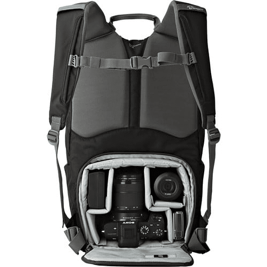 Lowepro Photo Hatchback BP 150 AW II (Black/Gray) Mochila Para Cámara / LP36955 - Image 3