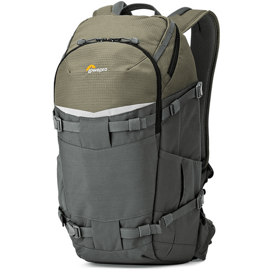 Lowepro Flipside Trek BP 350 AW (Gray/Dark Green) Mochila para Cámara / LP37015 - Image 2