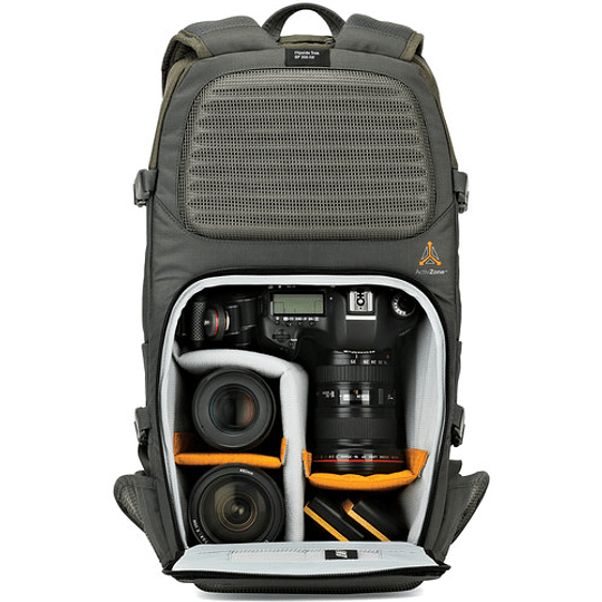 Lowepro Flipside Trek BP 350 AW (Gray/Dark Green) Mochila para Cámara / LP37015 - Image 5