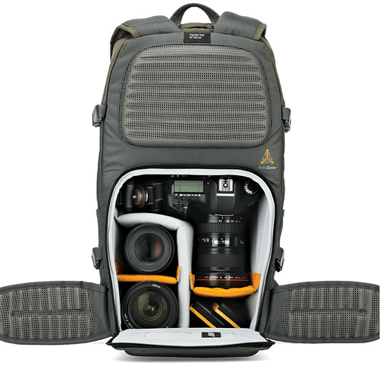 Lowepro Flipside Trek BP 350 AW (Gray/Dark Green) Mochila para Cámara / LP37015 - Image 6