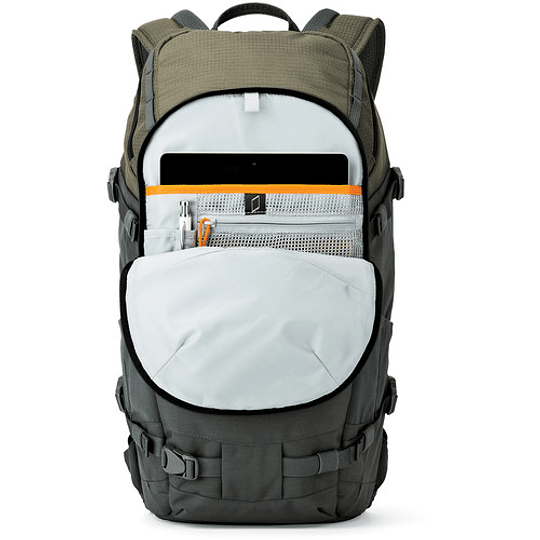 Lowepro Flipside Trek BP 350 AW (Gray/Dark Green) Mochila para Cámara / LP37015 - Image 8