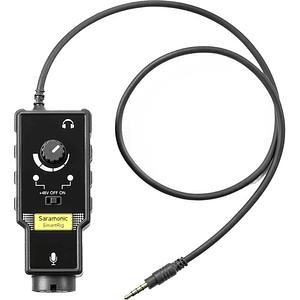 Saramonic SmartRig II Adaptador de Audio XLR con Phantom Power Preamplificador para Smartphones