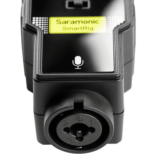 Saramonic SmartRig II Adaptador de Audio XLR con Phantom Power Preamplificador para Smartphones - Image 3