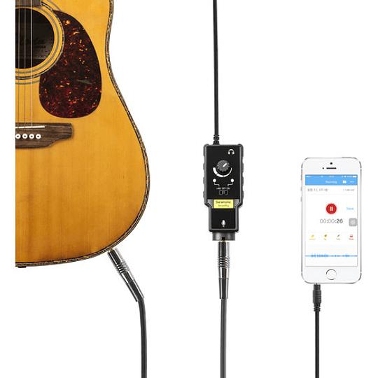 Saramonic SmartRig II Adaptador de Audio XLR con Phantom Power Preamplificador para Smartphones - Image 6
