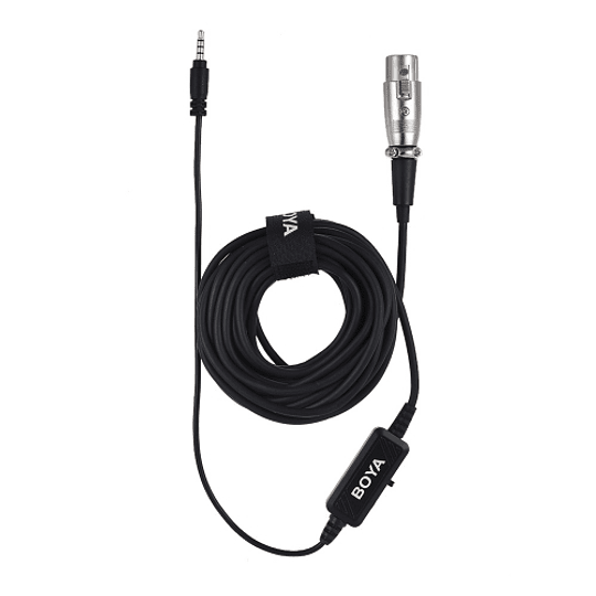 BOYA BY-BCA6 Adaptador XLR a 3.5mm TRRS - Image 3