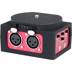 Saramonic SR-AX101 Adaptador de Audio Pasivo de 2 Canales para Cámaras
