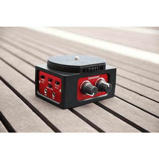 Saramonic SR-AX101 Adaptador de Audio Pasivo de 2 Canales para Cámaras - Image 4