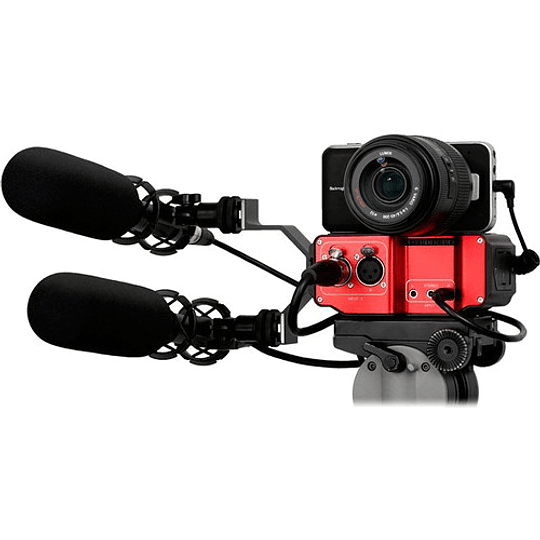 Saramonic SR-PAX2 Adaptador de Audio Pasivo de 2 Canales para Cámaras - Image 3