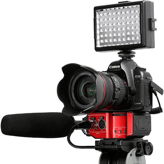 Saramonic SR-PAX2 Adaptador de Audio Pasivo de 2 Canales para Cámaras - Image 4