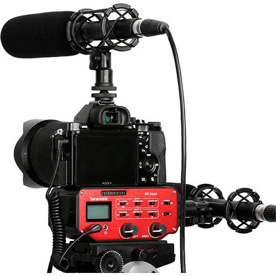 Saramonic SR-PAX2 Adaptador de Audio Pasivo de 2 Canales para Cámaras - Image 5