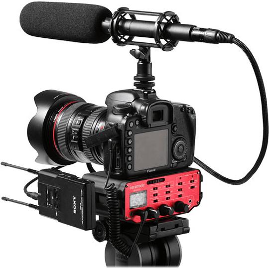 Saramonic SR-AX107 Adaptador de Audio XLR de 2 Canales con Transformador de Aislamiento para Cámaras - Image 2