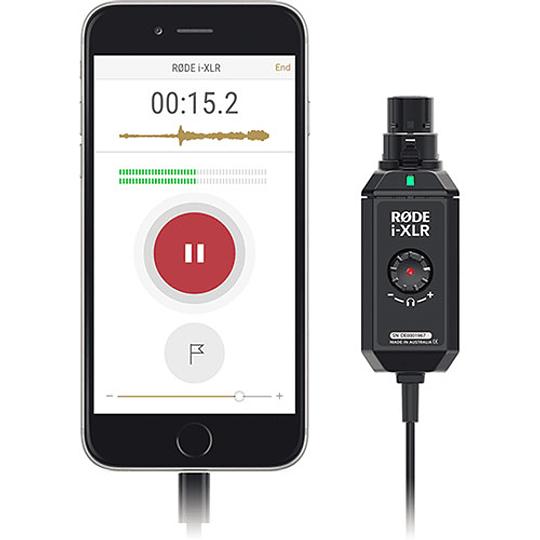 Rode i-XLR Adaptador Digital para iOS Apple - Image 2