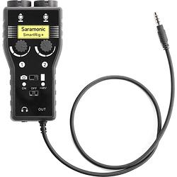 Saramonic SmartRig+ Mezclador de Audio XLR de 2 Canales