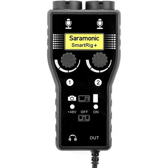 Saramonic SmartRig+ Mezclador de Audio XLR de 2 Canales - Image 3
