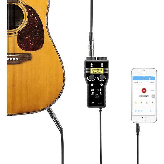 Saramonic SmartRig+ Mezclador de Audio XLR de 2 Canales - Image 4