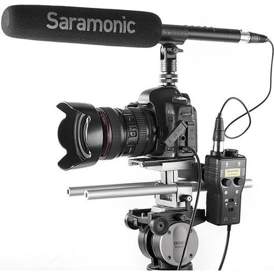 Saramonic SmartRig+ Mezclador de Audio XLR de 2 Canales - Image 7
