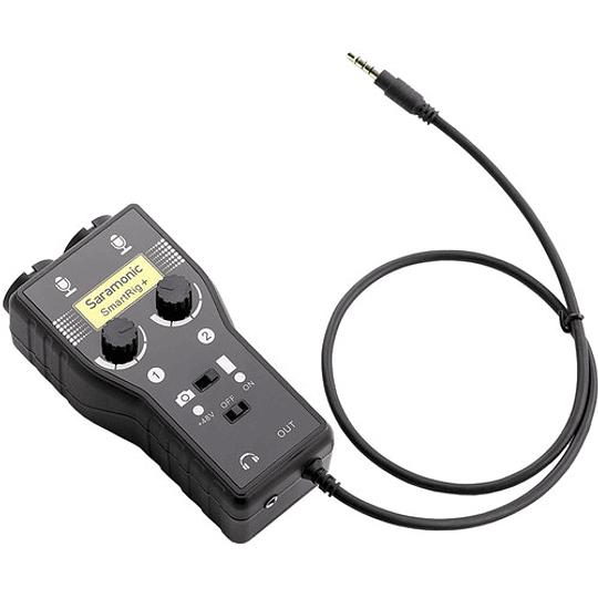 Saramonic SmartRig+ Mezclador de Audio XLR de 2 Canales - Image 9